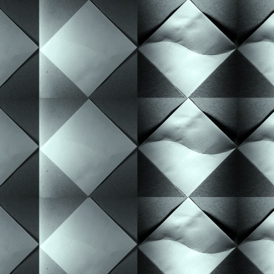 paper folding in day/night dynamic