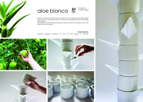 Art Food 2014 project - a new ware to enjoy eating. The ware were made by me in Ćmielów Design Studio during 3 weeks of residency with students from Wrocław Academy of Fine Art and Design in Wrocław, Central Saint Martins College in London, Pratt Institute in New York