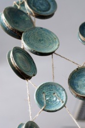 Multiplied on pottery wheel  and altered, with reduction glaze / Zmultiplikowane na kole garncarkim oraz przekształcone z szkliwem redukcyjnym