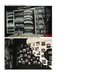 Big photos about tendency, small about particular events