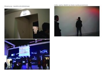 Ekspozytion: light/UV, empty wall
