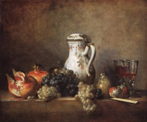 grapes-and-pomegranatesJean Chardin