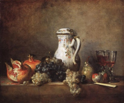 grapes-and-pomegranatesJean Chardin