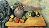 Paul Cezannestill-life-jug-and-fruit-on-a-table-1894