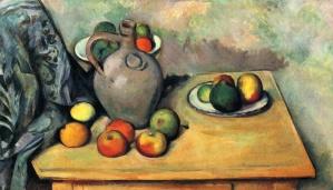 Paul Cezannestill-life-jug-and-fruit-on-a-table-1894