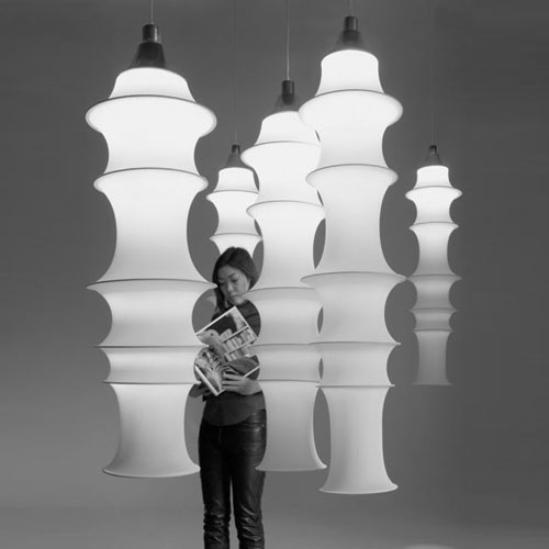 19.Danese Milano Falkland Pendant Lamp Large by Bruno Munari