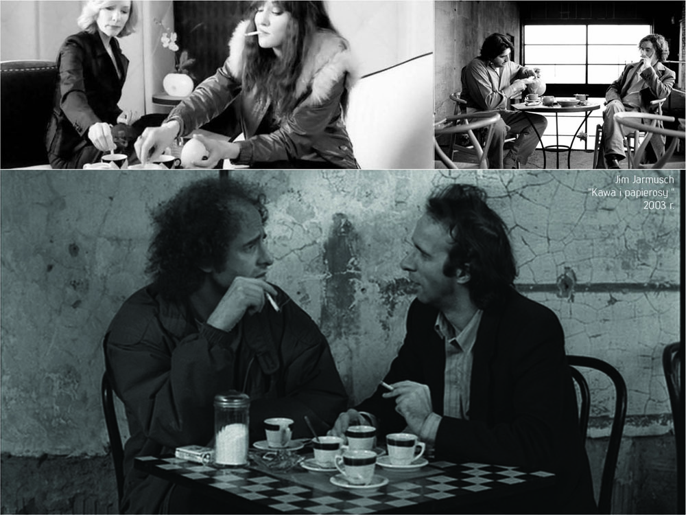 """Coffee and cigarettes"" movie"
