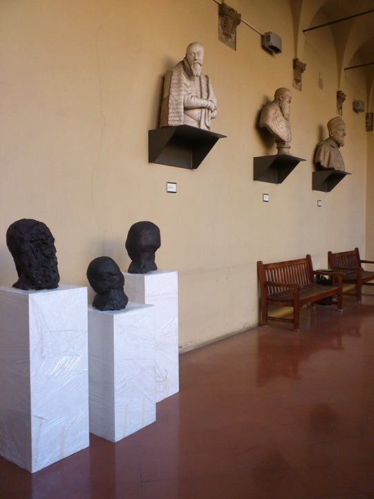 Daniel Silver The surface's flowing Museo Civico Medievale