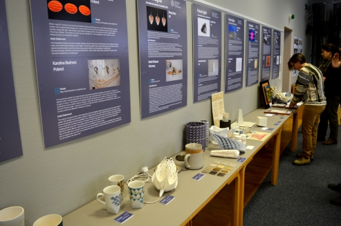 Works display of participants