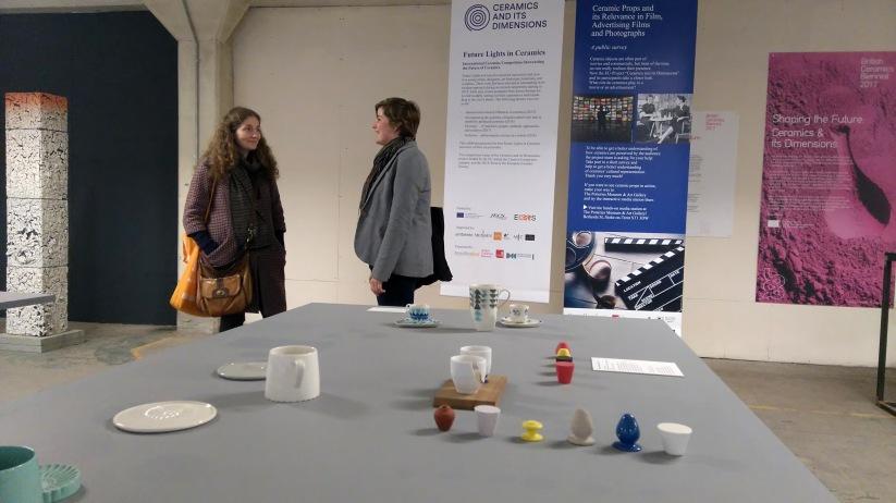 "Karolina Bednorz ""Tri-Angle"" at exhibition ""Shaping the Future"""", Spode, BCB"