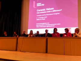 Plenary Session: Claudia Casali (International Museum of Ceramics, Faenza) summs up Congress